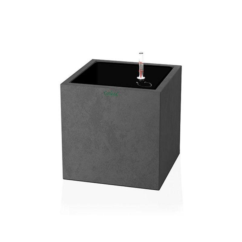Fiber Planter Cube Natural